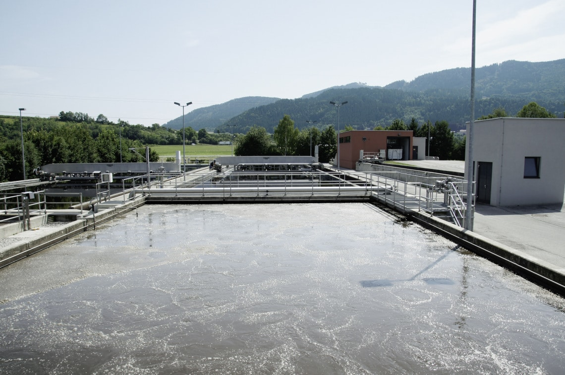 Wastewater treatment plant, St. Veit
