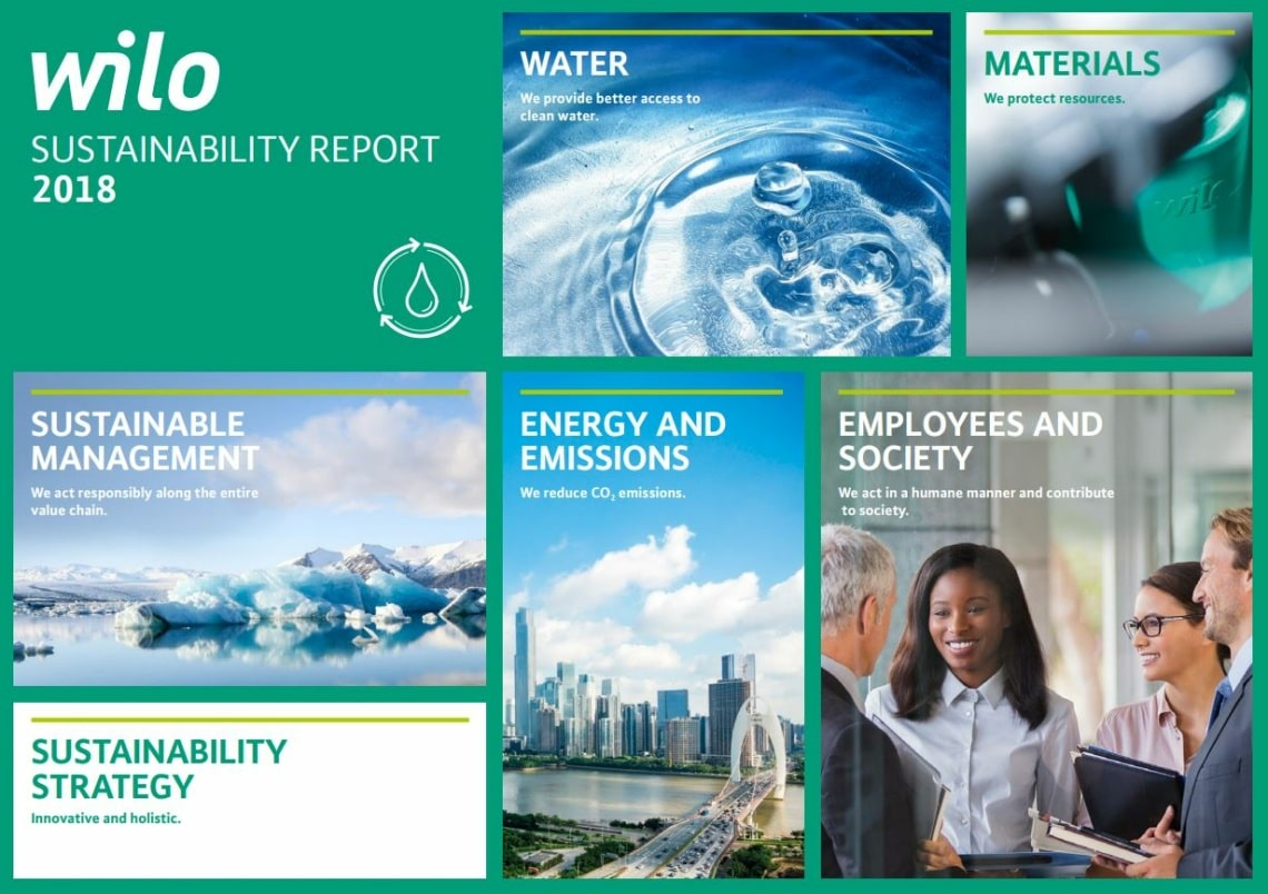 Wilo Sustainability Report 2018
