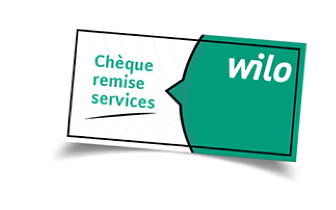 Services remittance cheque