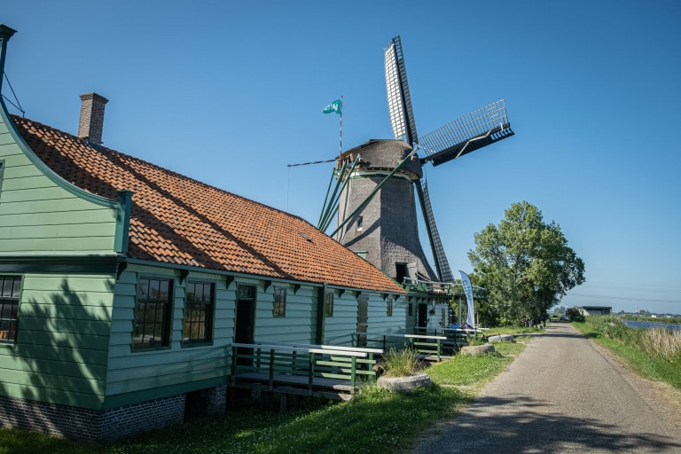 Photo of mill De Paauw for news item about Wilo-Foundation sponsorship