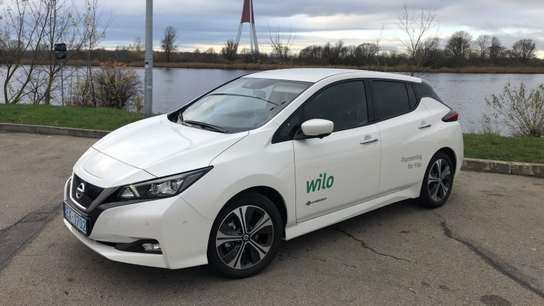 wilo baltic company first electric car