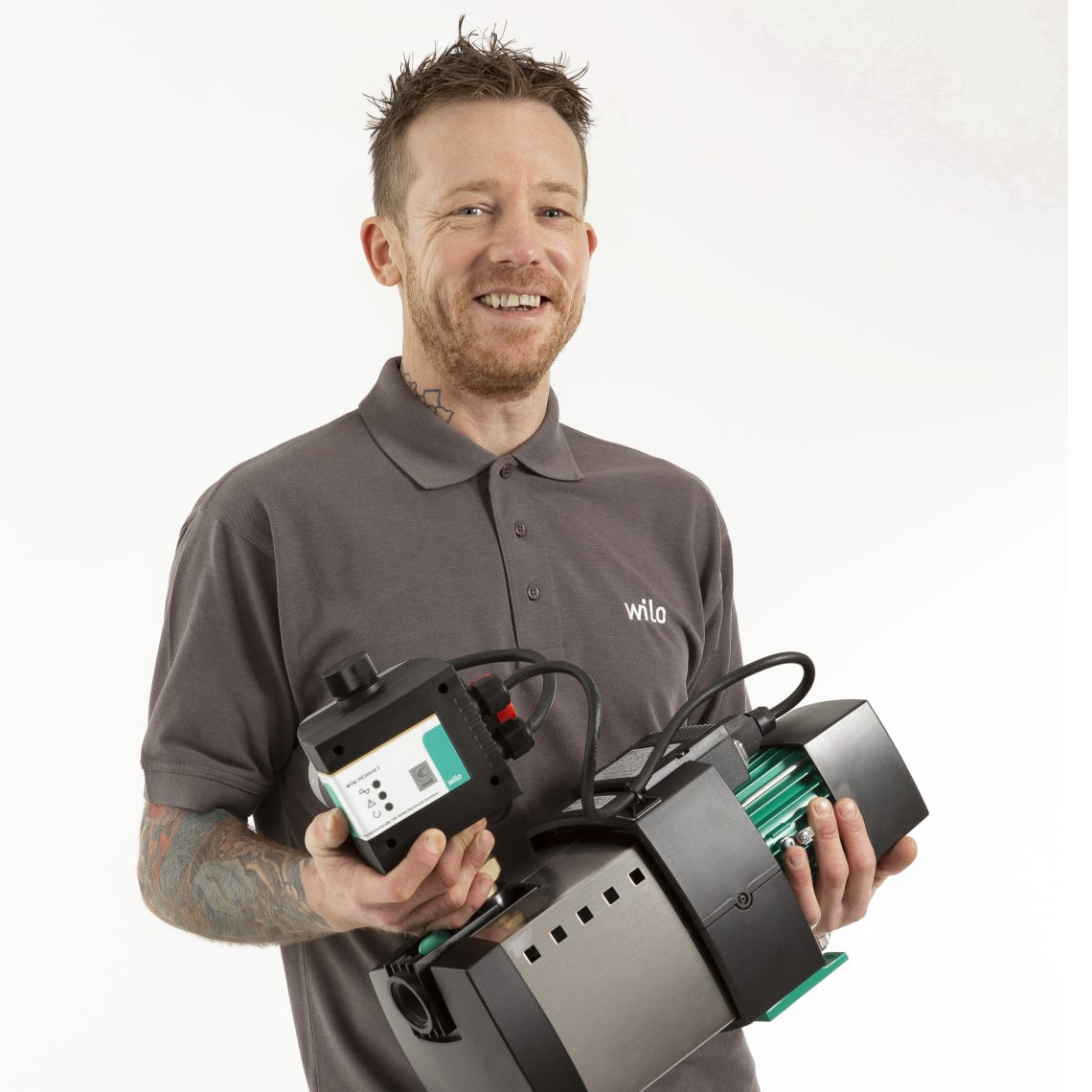 UK influencer Dennis Hollingworth with HiMulti 3