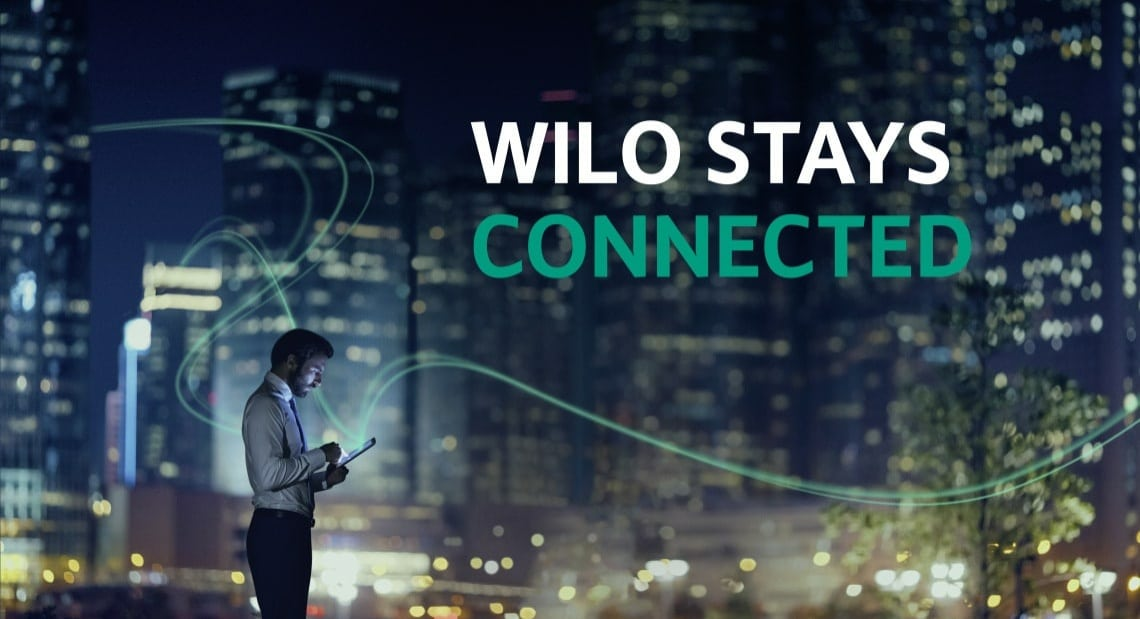 wilo stays connected