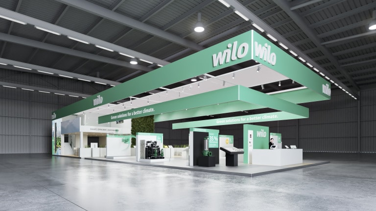 Le stand virtuel Wilo IFAT 2020