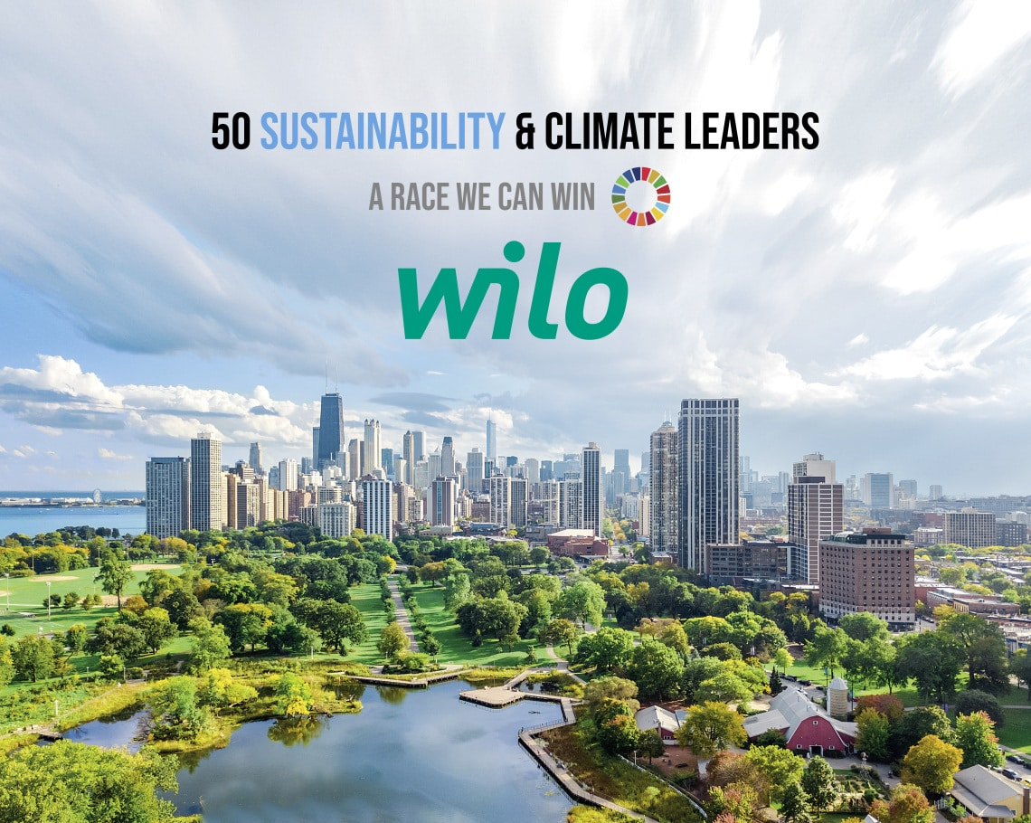 "Visuell ""50 Sustainability & Climate Leaders"""