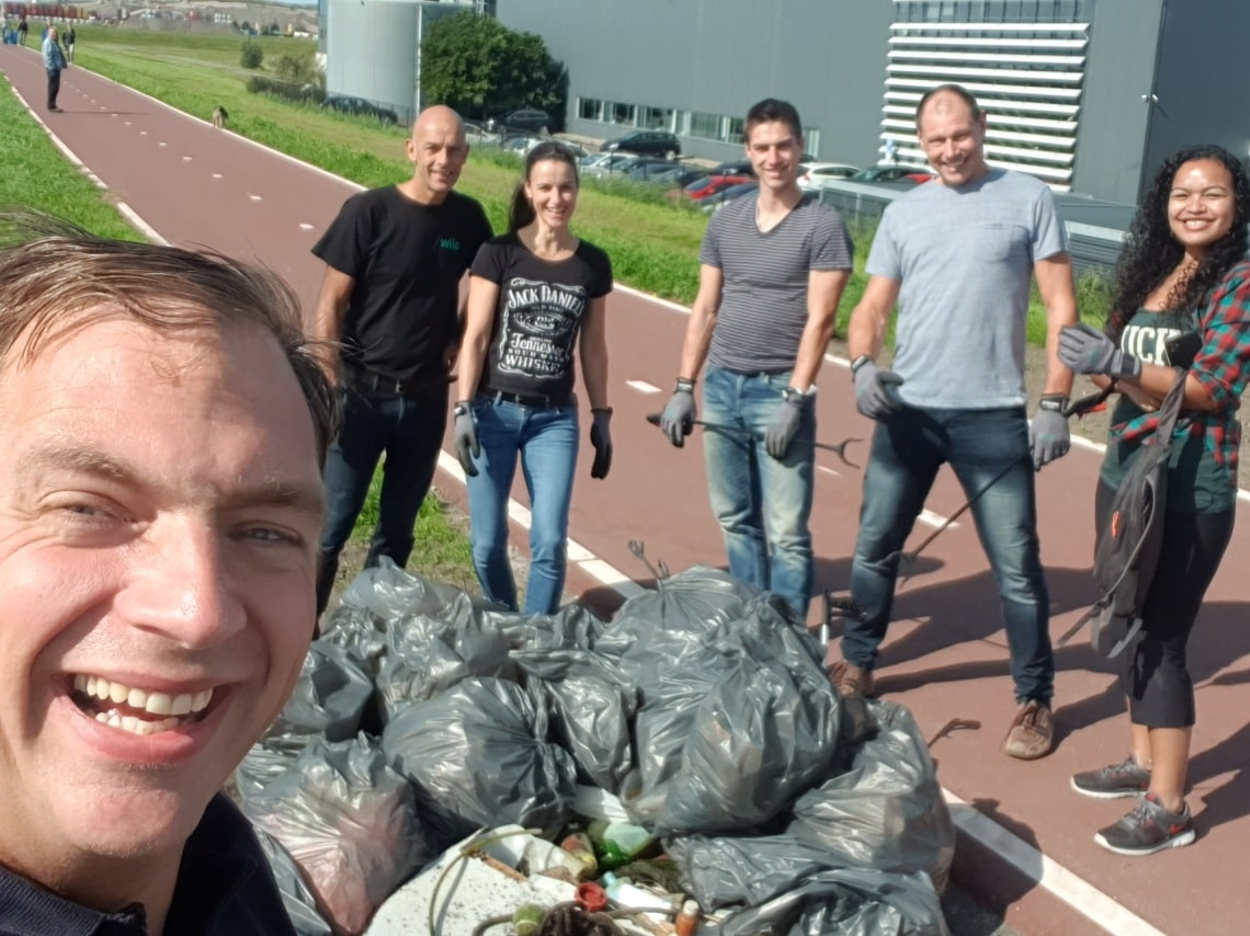 World Cleanup Day in the Netherlands