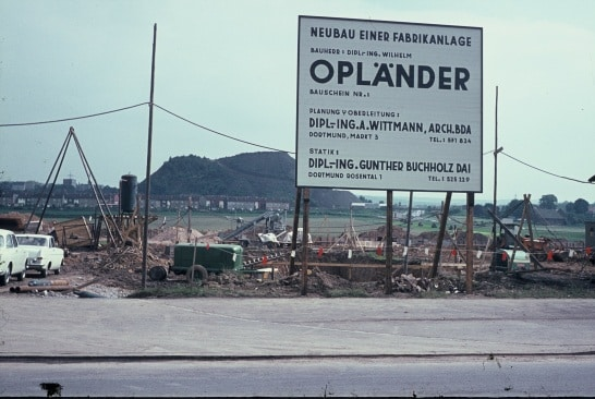 Construction Wilo 1964 - Opländer