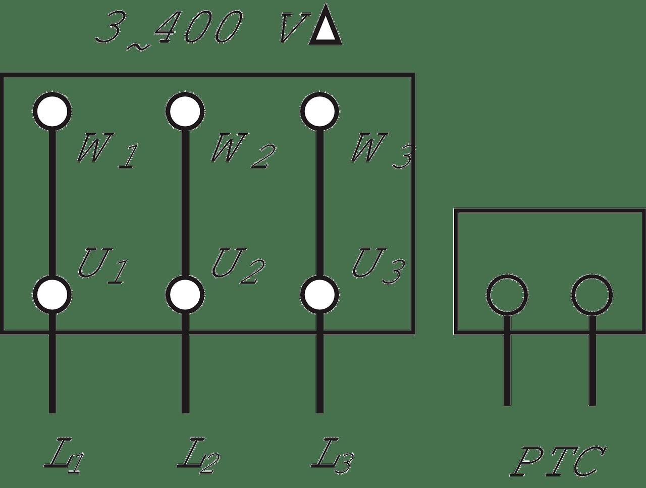 Wiring diagram. 3~. 3~