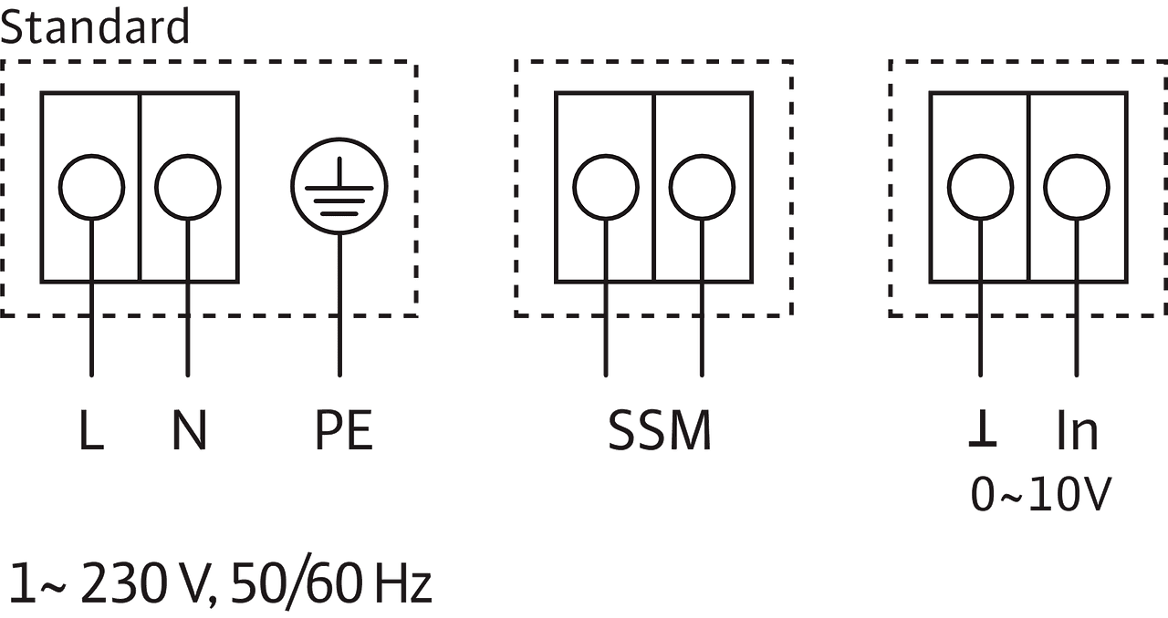 Yonos Eco 30 1 5 Bms Wilo 0 10v Wiring Diagram 1230 V 50 60 Hz